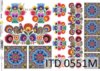 Papier decoupage ITD D0551M