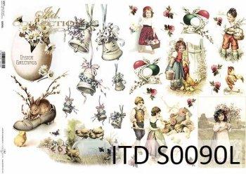 Papier decoupage SOFT ITD S0090L