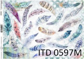 Papier decoupage ITD D0597M