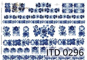 Papier decoupage ITD D0296M
