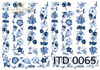Papier decoupage ITD D0065