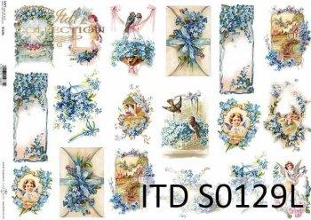 Papier decoupage SOFT ITD S0129L
