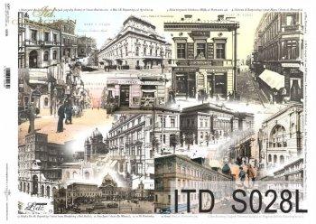 Papier decoupage SOFT ITD S0028L