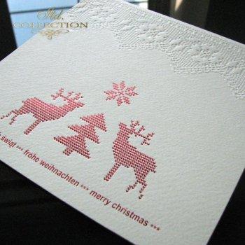 Kartki świąteczne / Kartka bożonarodzeniowa K500