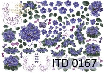 Papier decoupage ITD D0167
