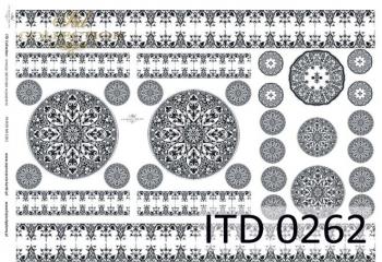 Papier decoupage ITD D0262