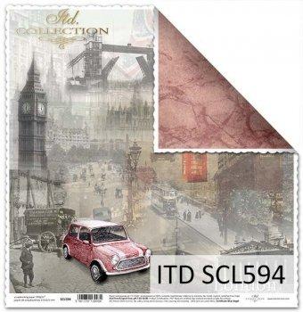 Papier scrapbooking SCL594