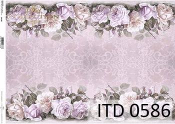 Papier decoupage ITD D0586