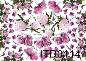 Papier decoupage ITD D0114