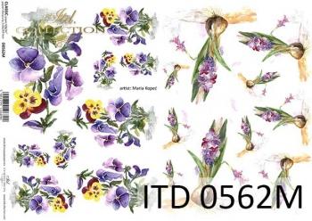 Papier decoupage ITD D0562M