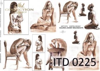 Papier decoupage ITD D0225M