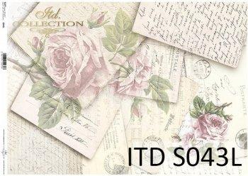 Papier decoupage SOFT ITD S0043L