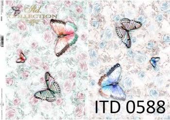 Papier decoupage ITD D0588