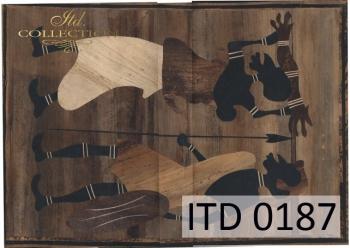 Papier decoupage ITD D0187