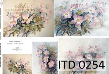 Papier decoupage ITD D0254