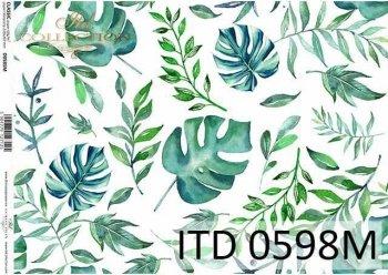 Papier decoupage ITD D0598M