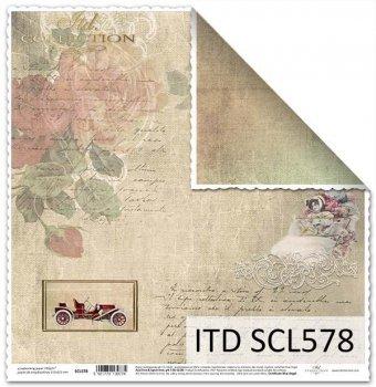 Papier scrapbooking SCL578