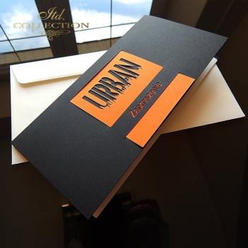 Zaproszenie biznesowe ZB1041 z kopertą