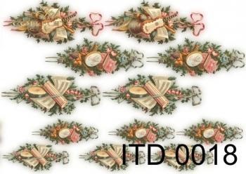 Papier decoupage ITD D0018M