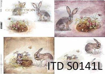 Papier decoupage SOFT ITD S0141L