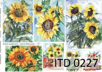 Papier decoupage ITD D0227