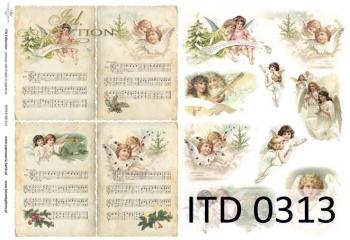 Papier decoupage ITD D0313