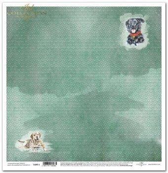 Papier scrapbooking SL895-1