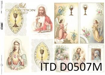 Papier decoupage ITD D0507M