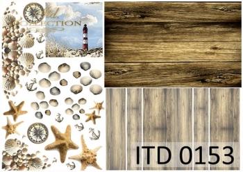 Papier decoupage ITD D0153M