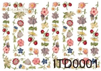 Papier decoupage ITD D0001M