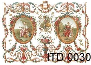 Papier decoupage ITD D0030