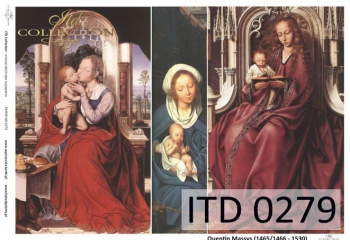 Papier decoupage ITD D0279