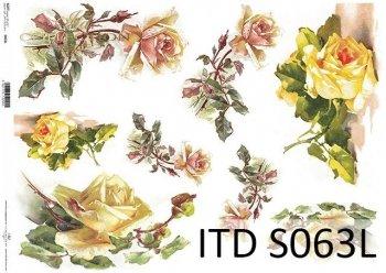 Papier decoupage SOFT ITD S0063L