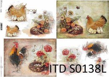 Papier decoupage SOFT ITD S0138L