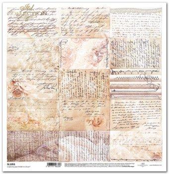 Papier scrapbooking SL1051