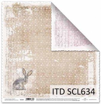 Papier scrapbooking SCL634
