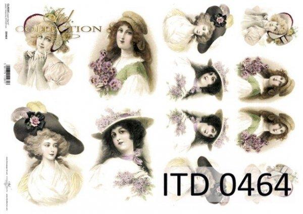 бумага для декупажа классическая D0464