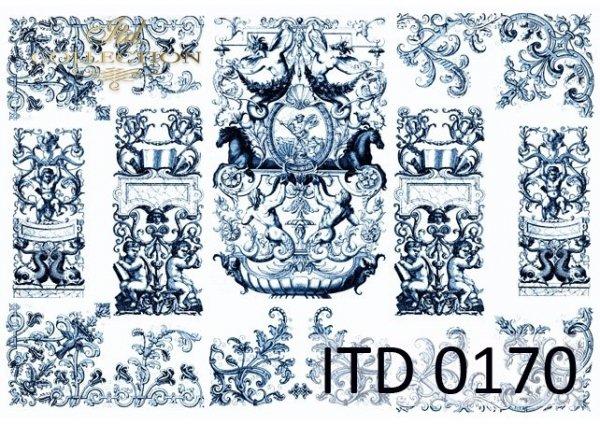 бумага для декупажа классическая D0170