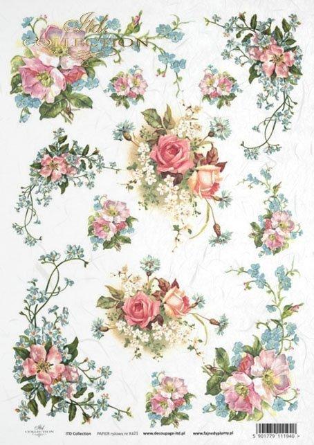 rose, roses, flower, flowers, bouquet, bouquets, R421