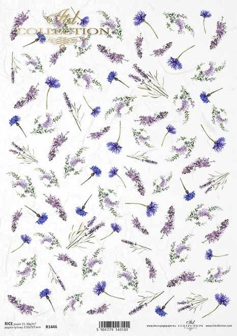 flores, acianos, lavanda, perovskia, pequeños elementos*Blumen, Kornblumen, Lavendel, Perovskia, kleine Elemente*цветы, васильки, лаванда, перовская, мелкие элементы