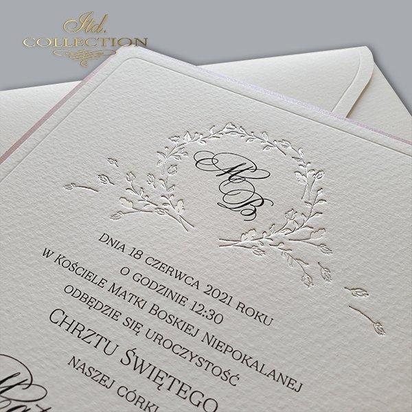 Zaproszenia na chrzest, zaproszenia dla dziecka * Invitations to be baptized, invitations for a child