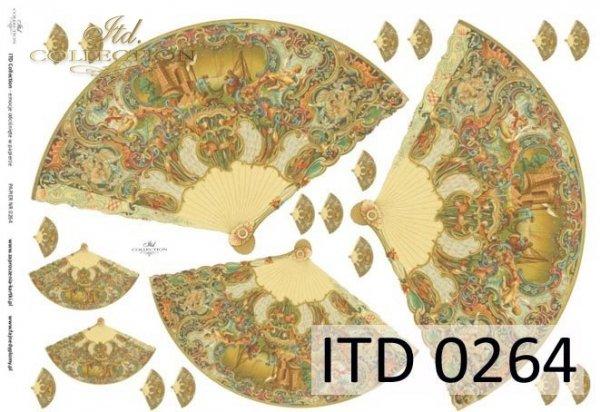 бумага для декупажа классическая D0264