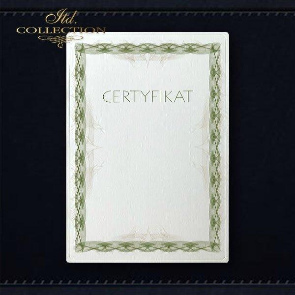 диплом DS0323 универсальный сертификат