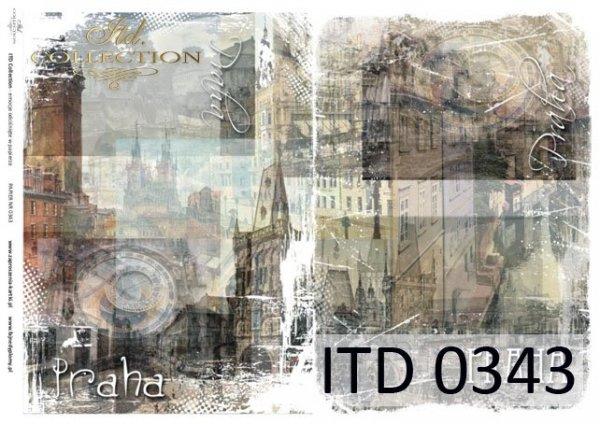 бумага для декупажа классическая D0343M