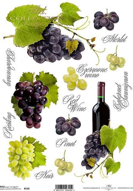 rice-paper-decoupage-grapes-bottle-Fruit-juice-wine-inscription-merlot-riesling-cabernet-pinot-R0128