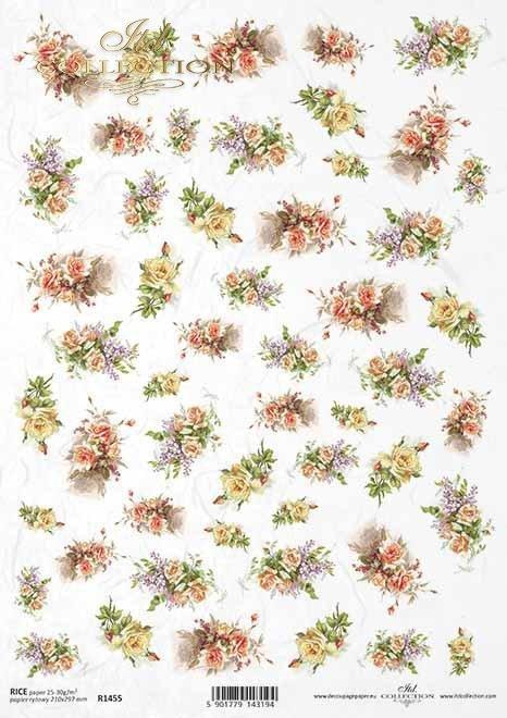 flores, ramos de flores, artículos pequeños*Blumen, Blumensträuße, Kleinteile*цветы, букеты, мелкие предметы