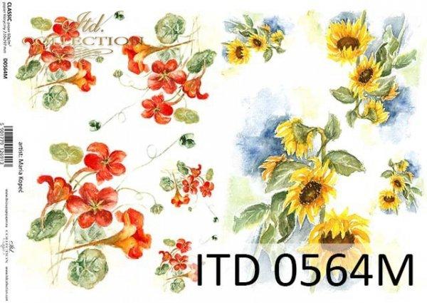 бумага для декупажа классическая D0564M