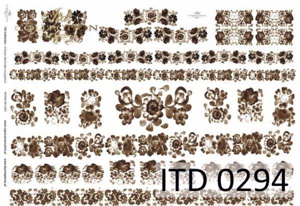 бумага для декупажа классическая D0294