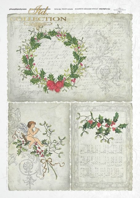 rice-paper-decoupage--Christmas-decorations-holly