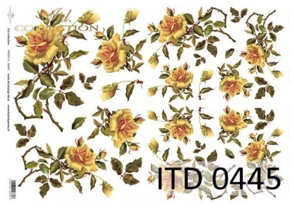 бумага для декупажа классическая D0445